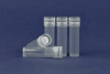 PP tube 8 ml, with rubber gasket, 10 pcs.